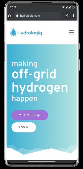 hydrologiq hydrogen management platform